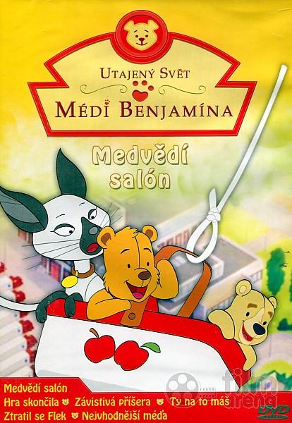 Utajený svět médi Benjamína - Medvědí salon - DVD plast