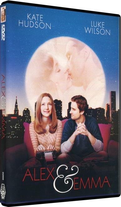 Alex a Emma - DVD plast