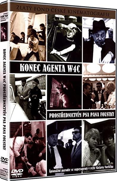 Konec agenta W4C prostřednictvím psa pana Foustky - DVD plast