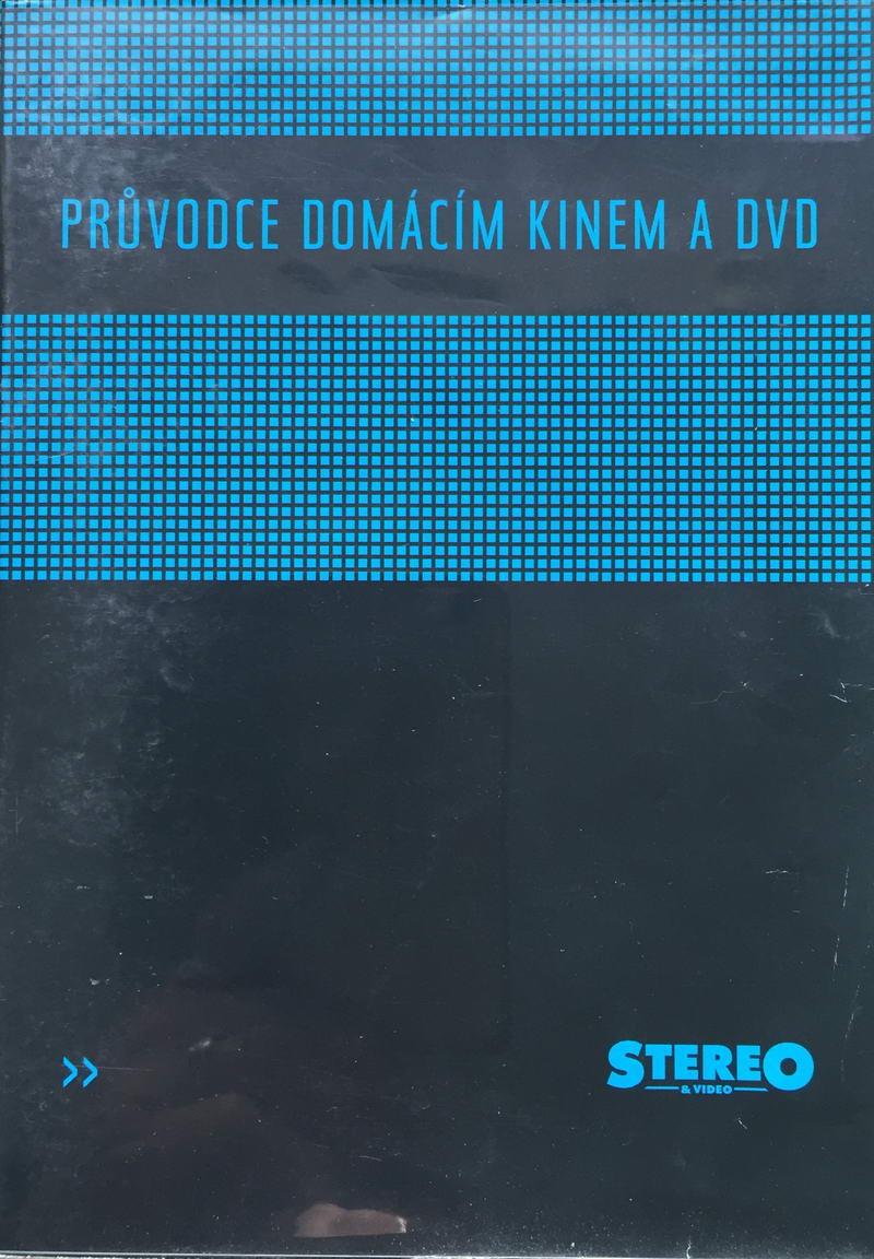 Průvodce domácím kinem a DVD - DVD plast /bazarové zboží/