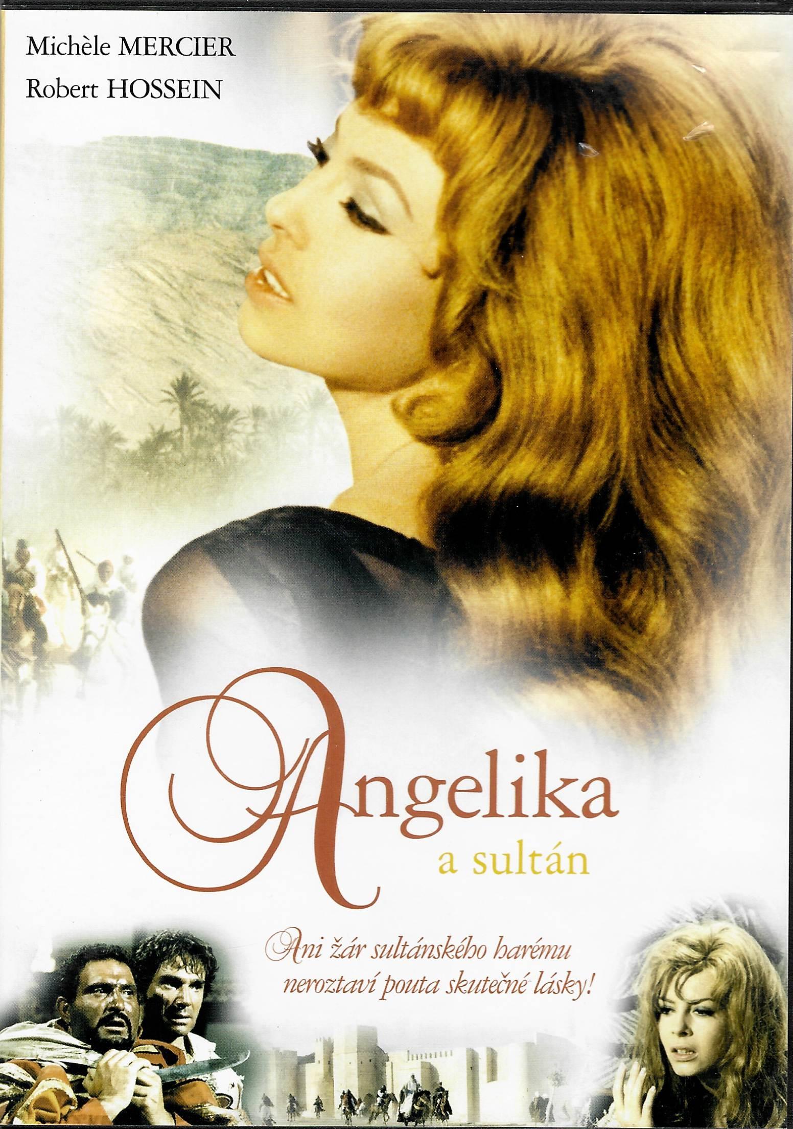 Angelika a Sultán - DVD plast