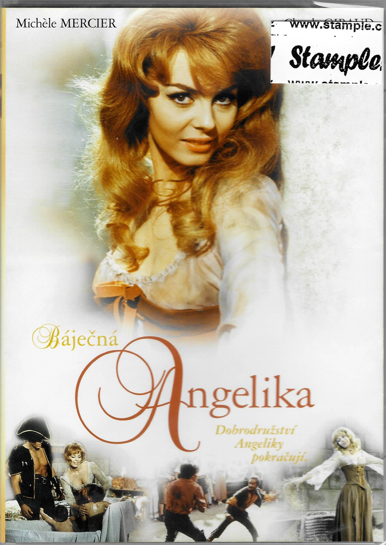 Báječná Angelika - DVD plast