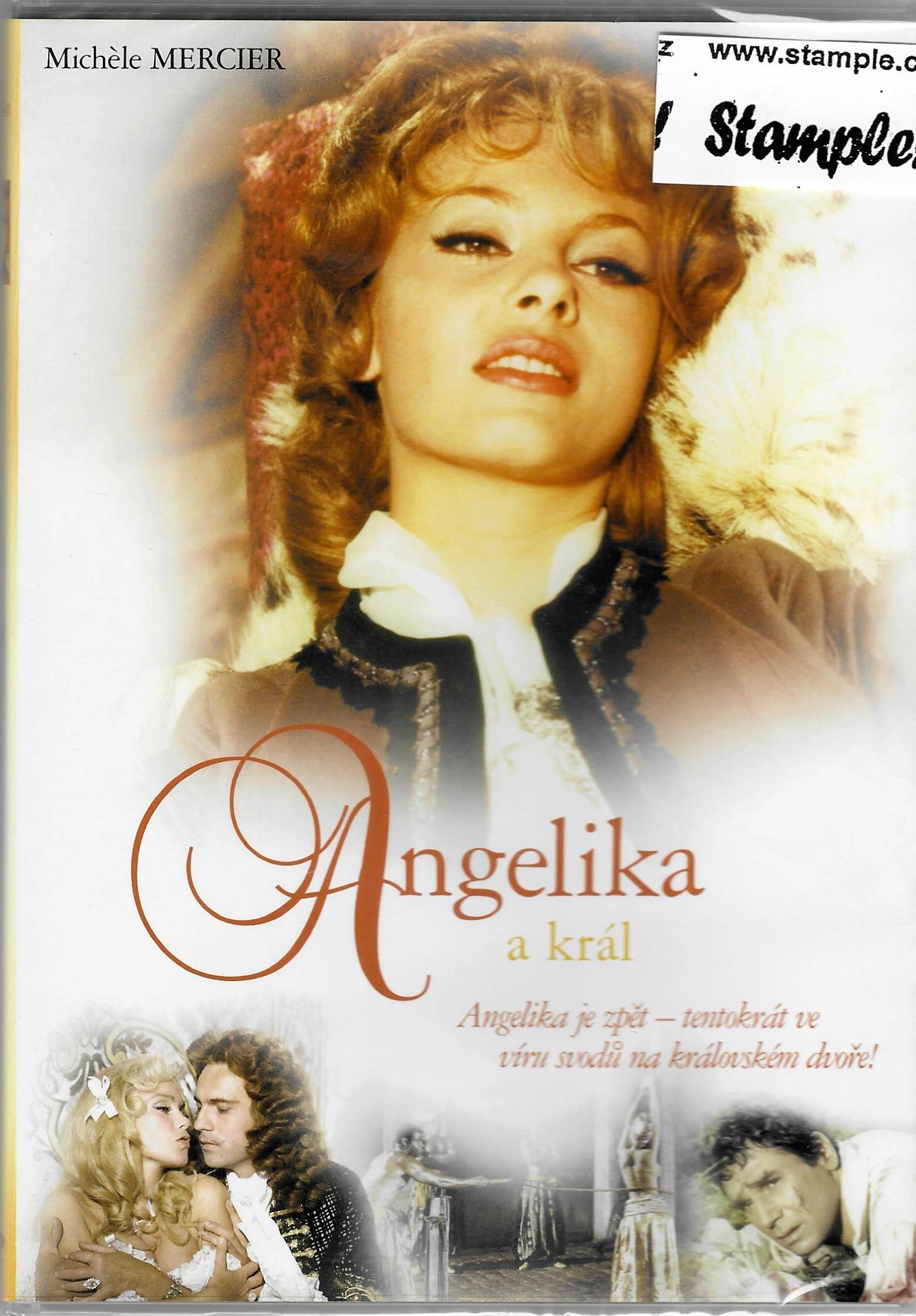 Angelika a král - DVD plast