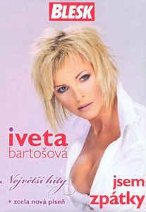 Iveta Bartošová - Jsem zpátky - CD pošetka /bazarové zboží/