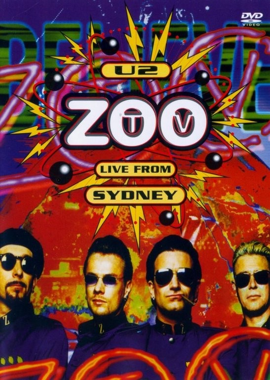 U2: Zoo TV live from Sydney - U2 - DVD