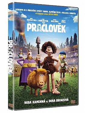 Pračlověk - DVD plast