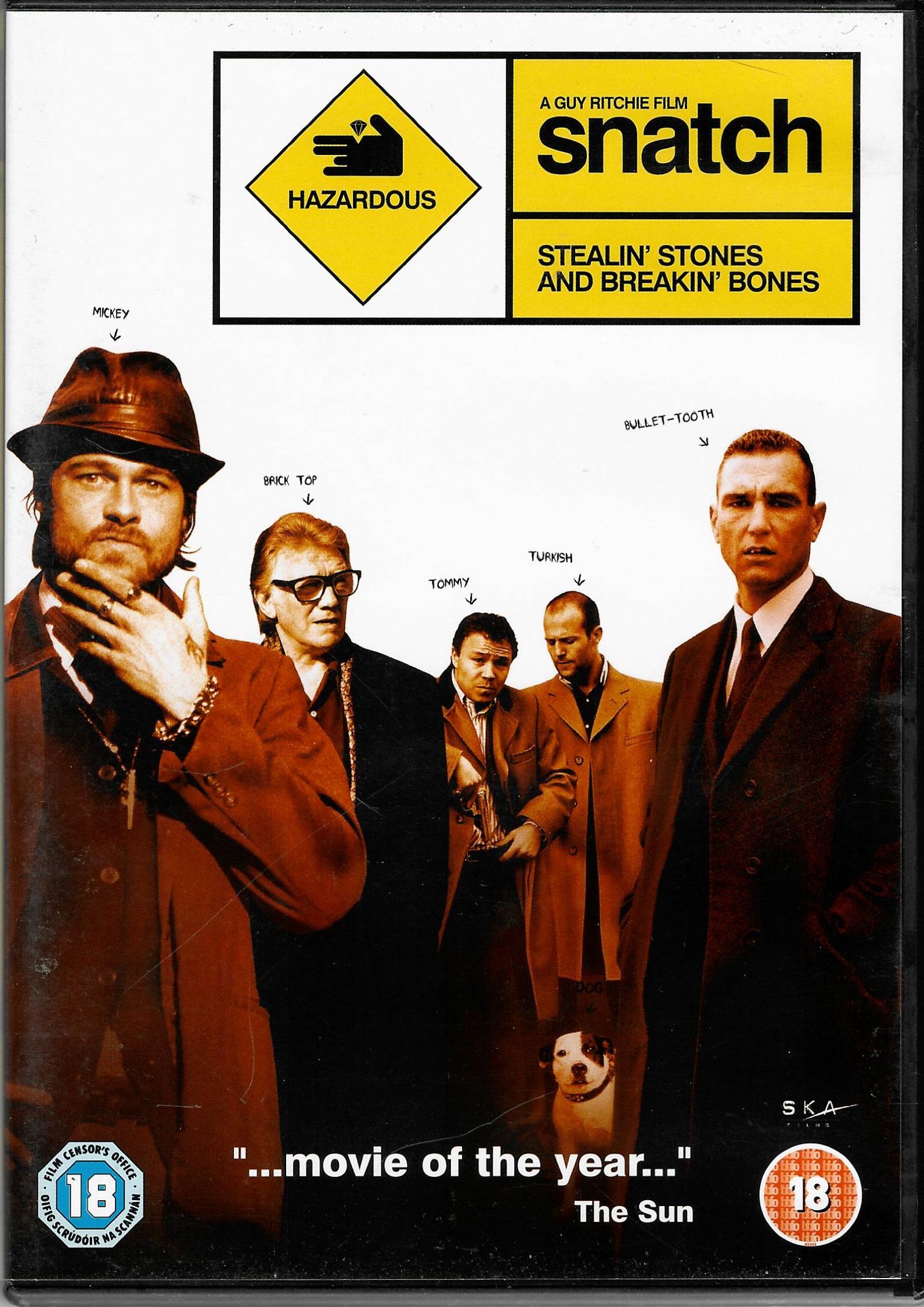 Snatch - Podfu(c)k - 2 DVD plast