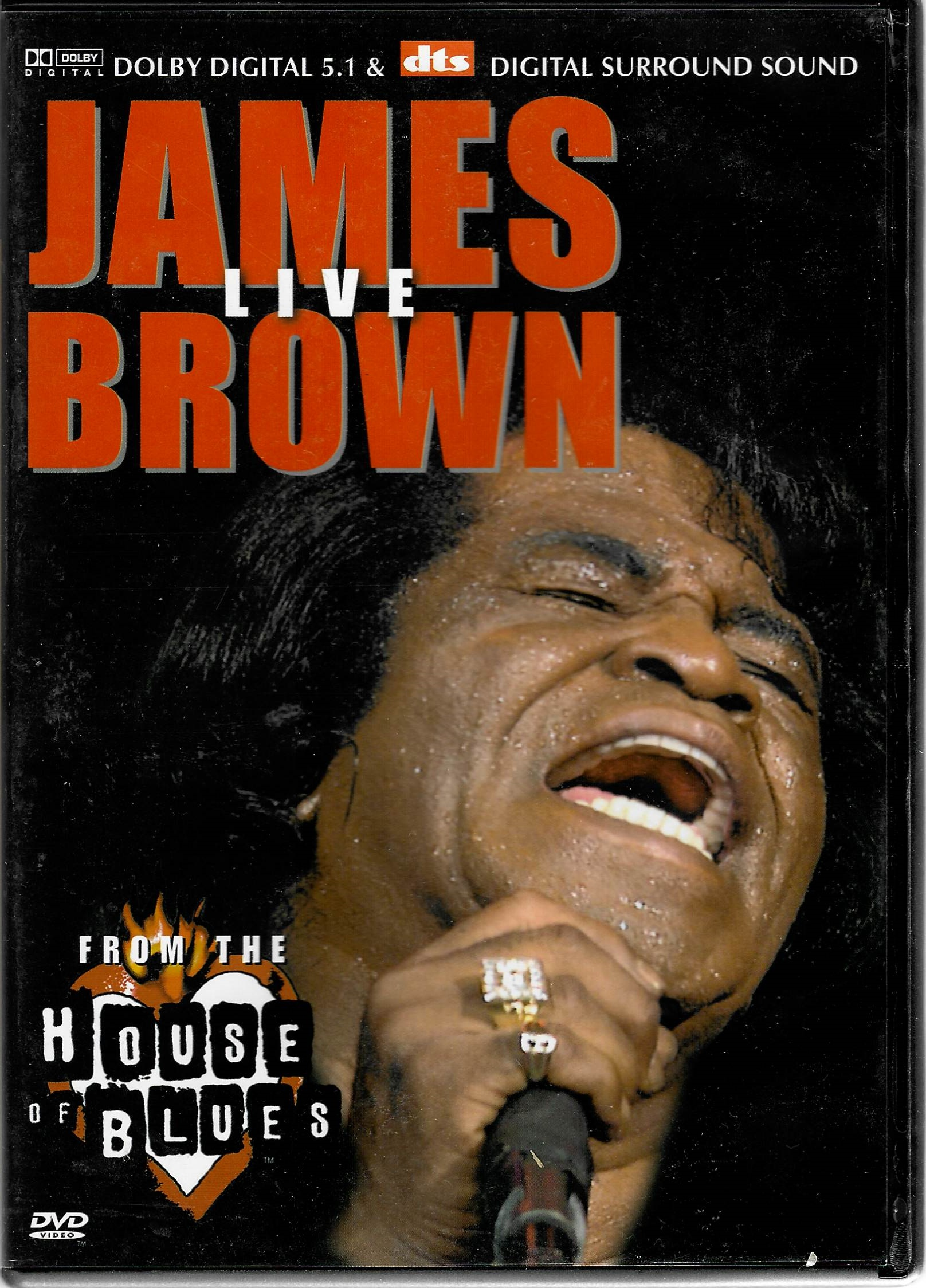 James Brown Live From the house of blues - DVD plast