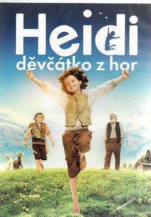 Heidi, děvčátko z hor ( plast ) DVD