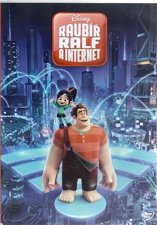 Raubíř Ralf a internet ( plast ) DVD