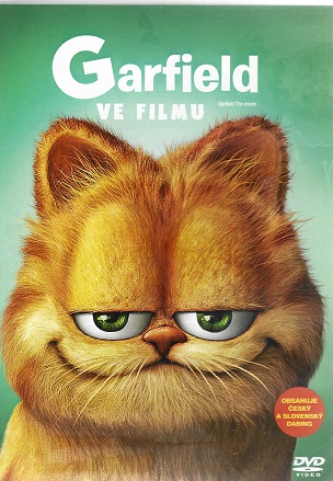 Garfield ve filmu ( plast ) DVD