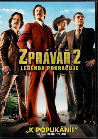 Zprávař 2  - Legenda pokračuje ( plast ) DVD