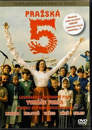 Pražská 5 ( plast ) DVD