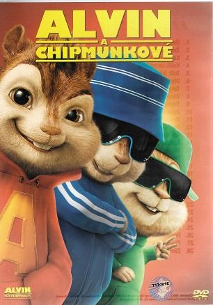 Alvin a Chipmunkové ( plast ) DVD