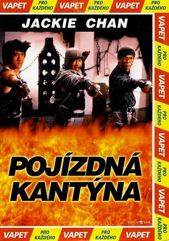 Pojízdná kantýna ( pošetka ) DVD