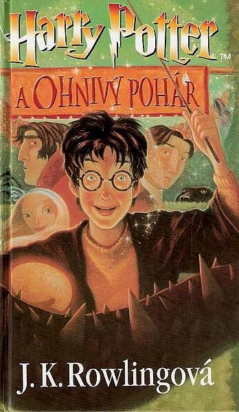 Harry Potter a Ohnivý pohár - J.K. Rowling