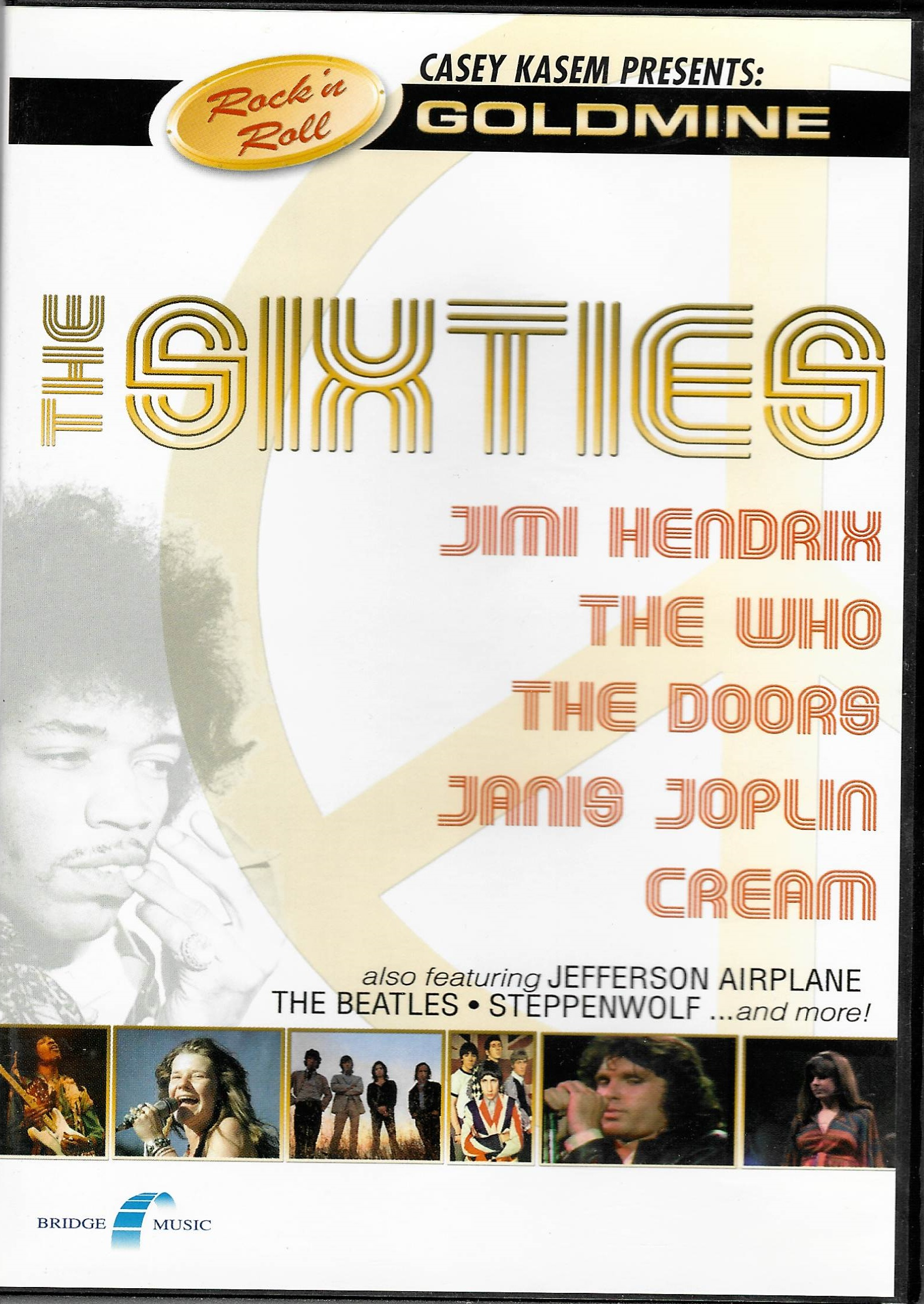 The Sixties - DVD plast