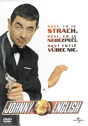 Johnny English ( plast ) DVD