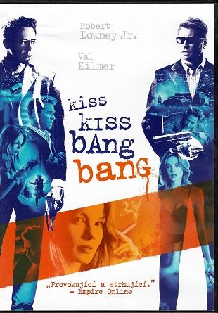 Kiss Kiss Bang Bang ( plast ) DVD