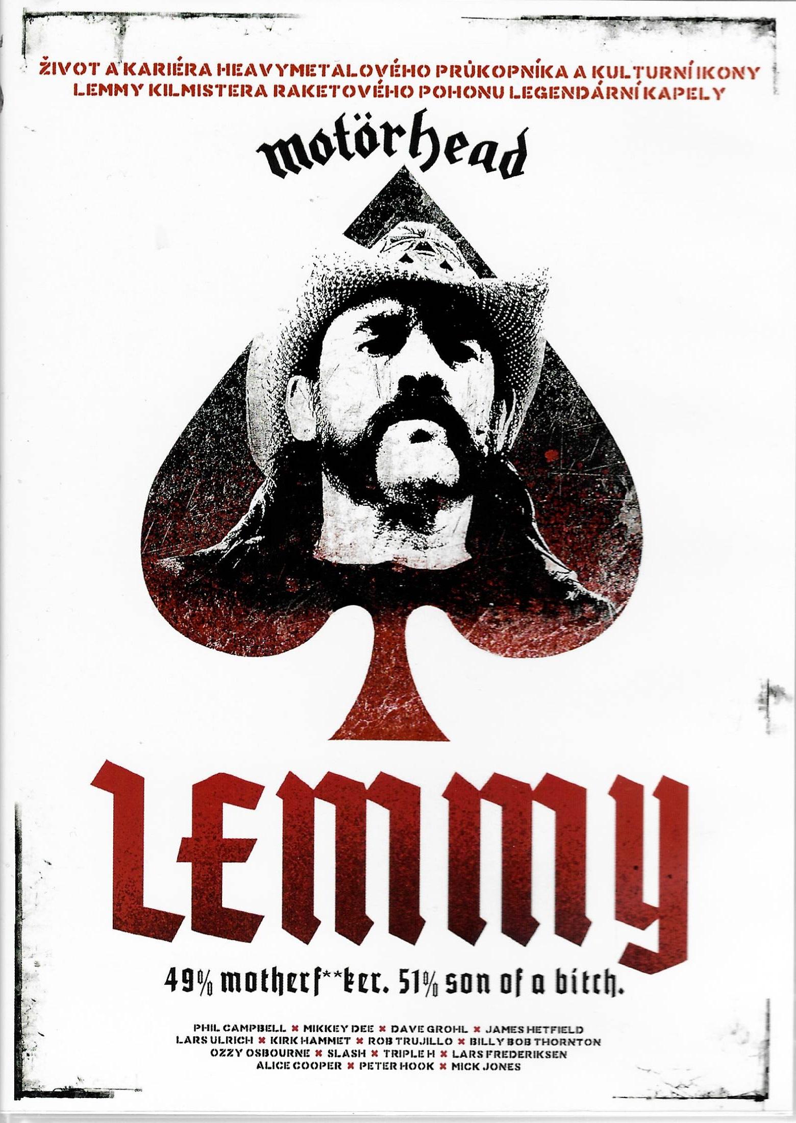 Lemmy - MOTÖRHEAD - DVD plast