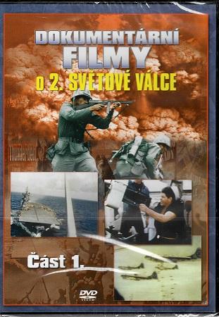 Dokumentární filmy o 2. světové válce: Část 1. ( plast ) DVD