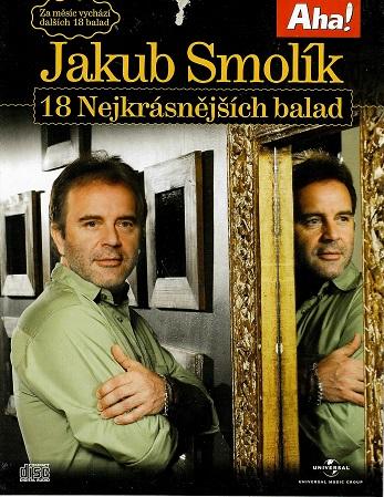Jakub Smolík - 18 nejkrásnějších balad ( bazarové zboží ) pošetka CD
