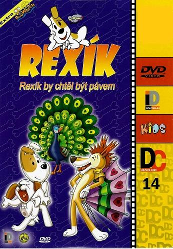 Rexík: Rexík by chtěl být pávem ( pošetka ) DVD
