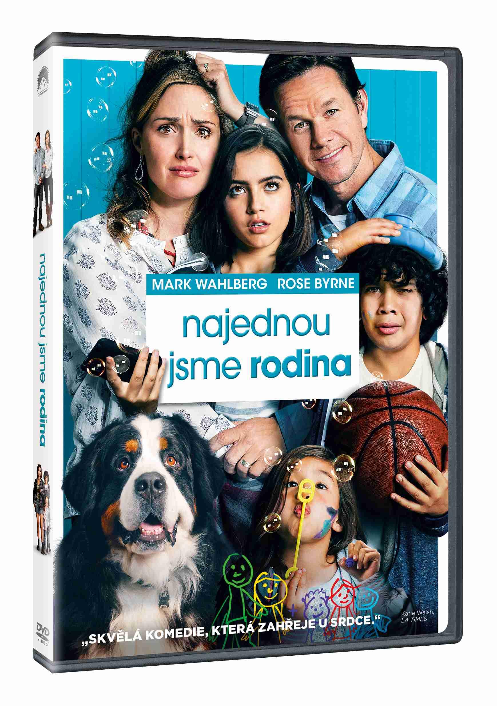 Najednou jsme rodina - DVD plast
