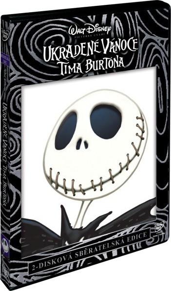 Ukradené vánoce Tima Burtona - 2disková sběratelská edice - DVD plast s přebalem