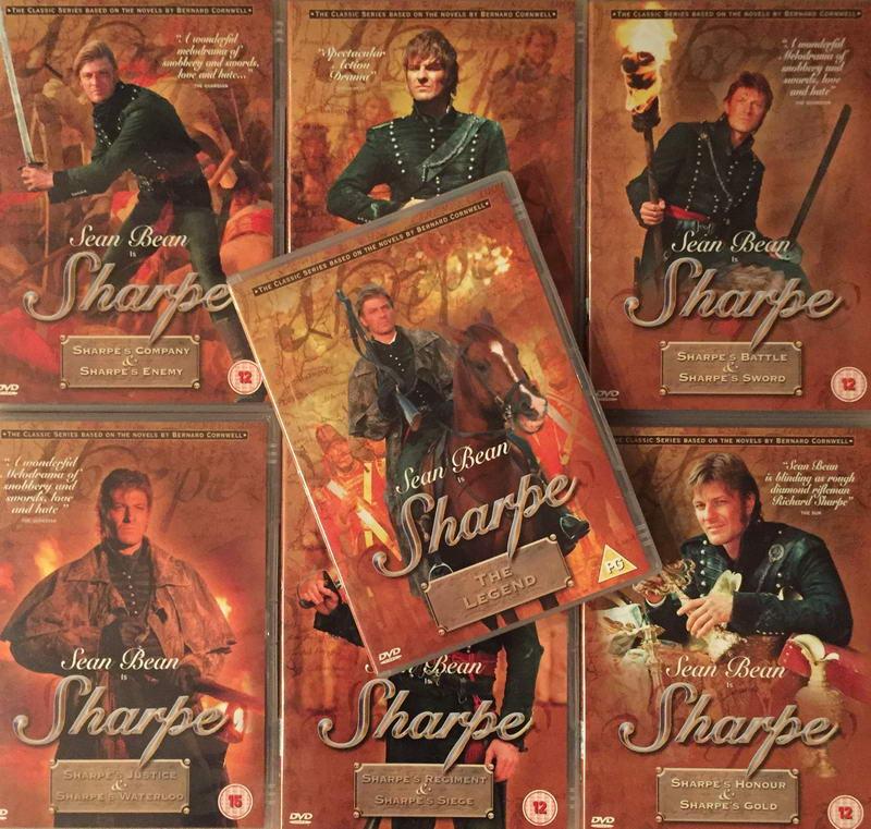 Sharpe - kolekce 7xDVD plast