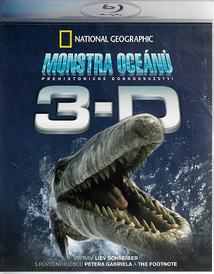 Monstra oceánů 3D - Pravěké dobrodružství ( Blu-ray )