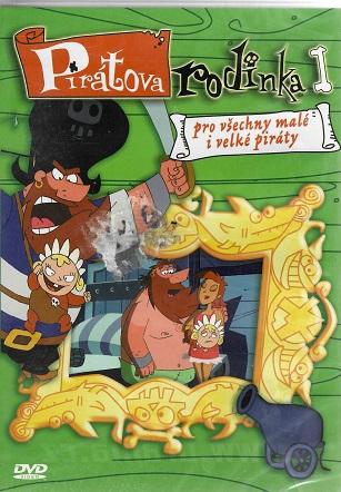 Pirátova rodinka I ( plast ) DVD