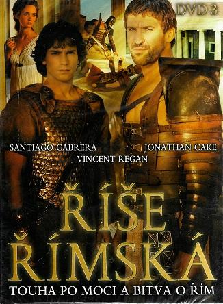 Říše Římská DVD 3 ( digipack ) DVD