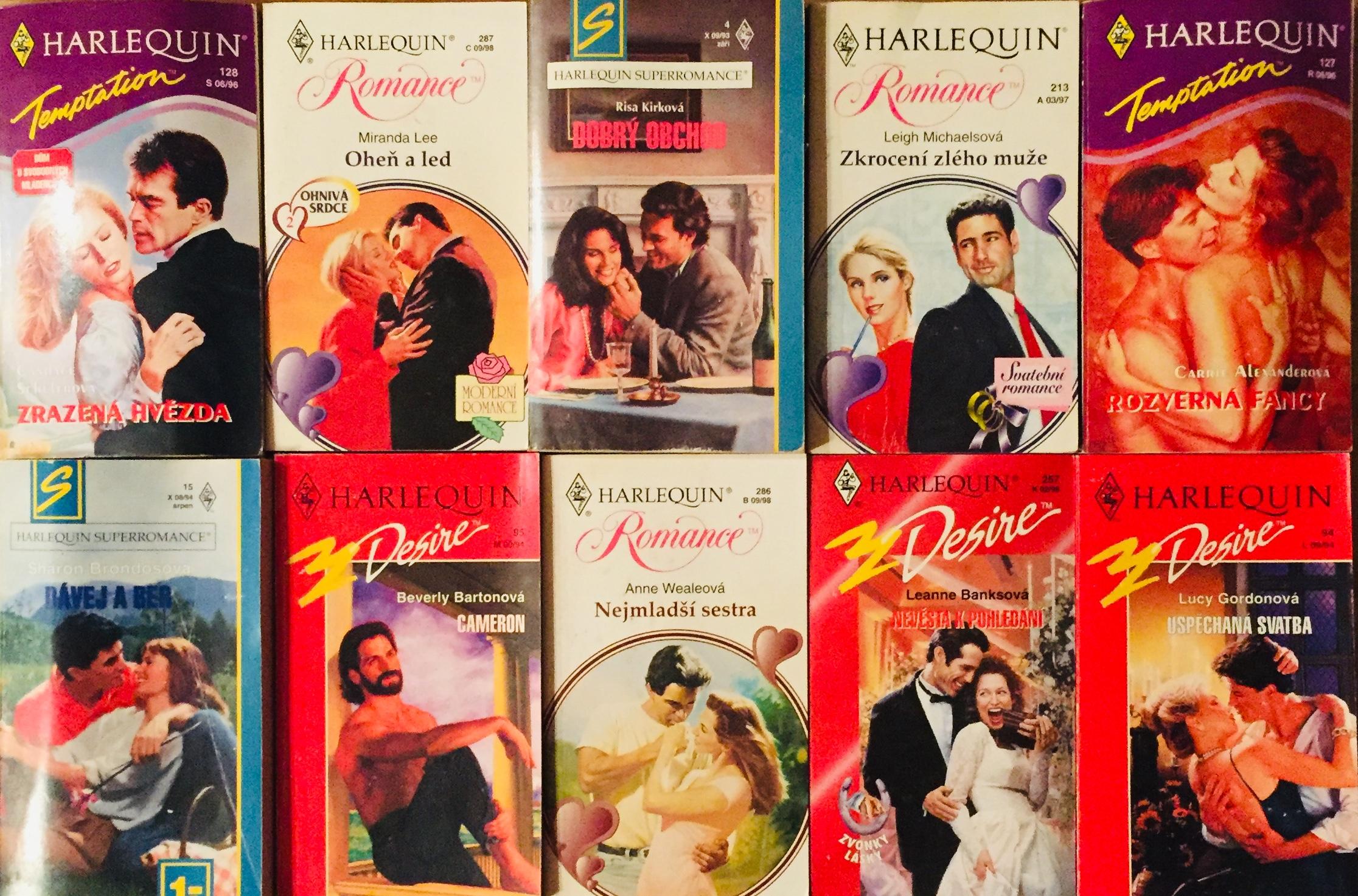 Velká knižní kolekce Harlequin LVI. - 10x bazarová kniha