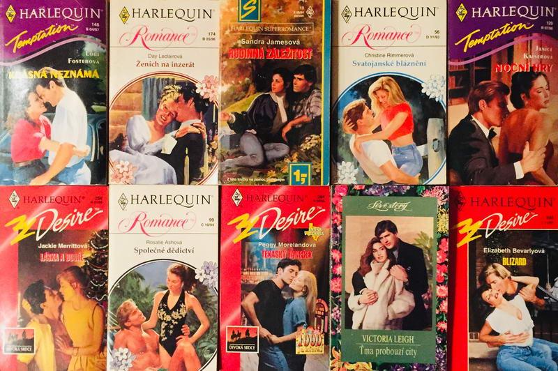 Velká knižní kolekce Harlequin LVIII. - 10x bazarová kniha