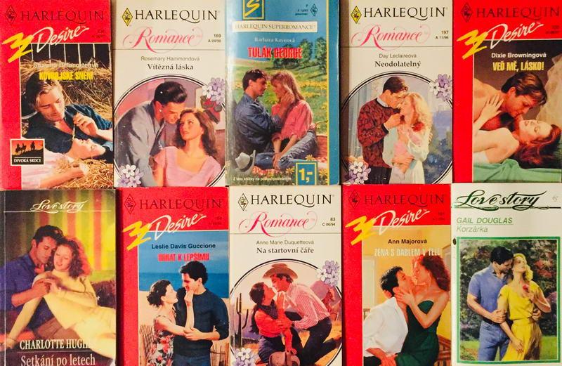 Velká knižní kolekce Harlequin LIX. - 10x bazarová kniha