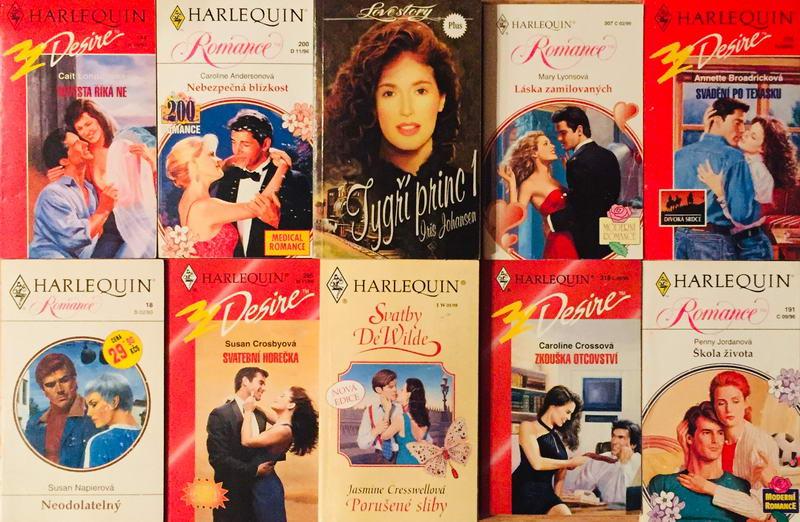 Velká knižní kolekce Harlequin LXV. - 10x bazarová kniha
