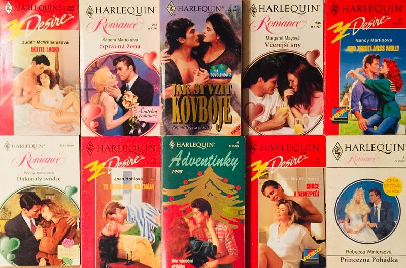 Velká knižní kolekce Harlequin LXVIII. - 10x bazarová kniha