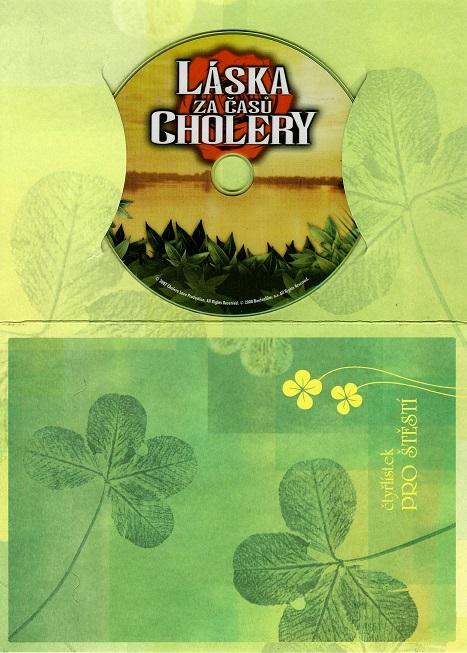 Láska za časů cholery ( dárkový papír obal ) DVD