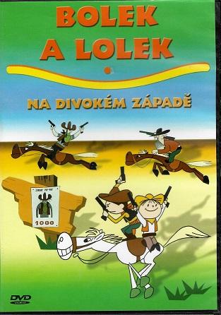 Bolek a Lolek na divokém západě ( slim ) DVD