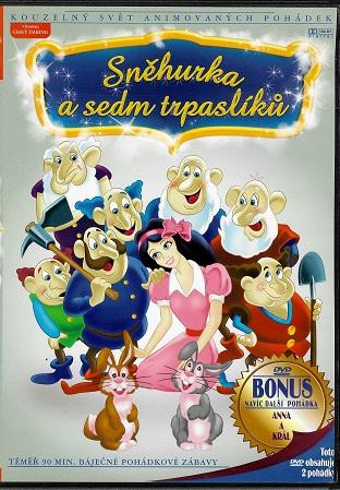 Sněhurka a sedm trpaslíků ( slim ) DVD