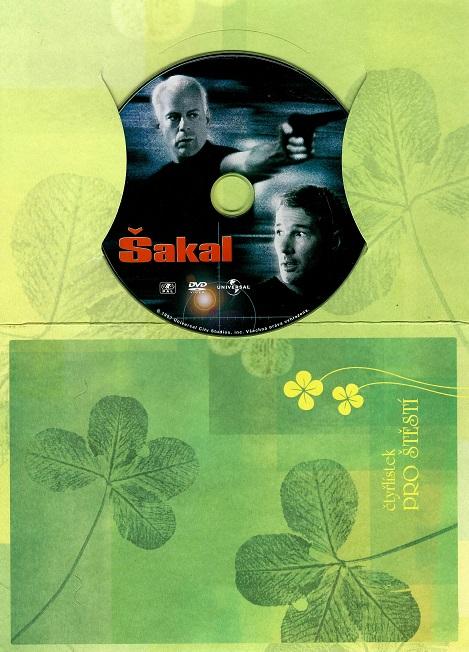 Šakal ( dárkový papír obal ) DVD