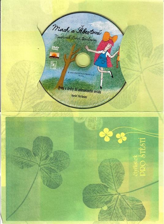 60 večerníčků - 17 - Mach a Šebestová ( dárkový papír obal ) - DVD