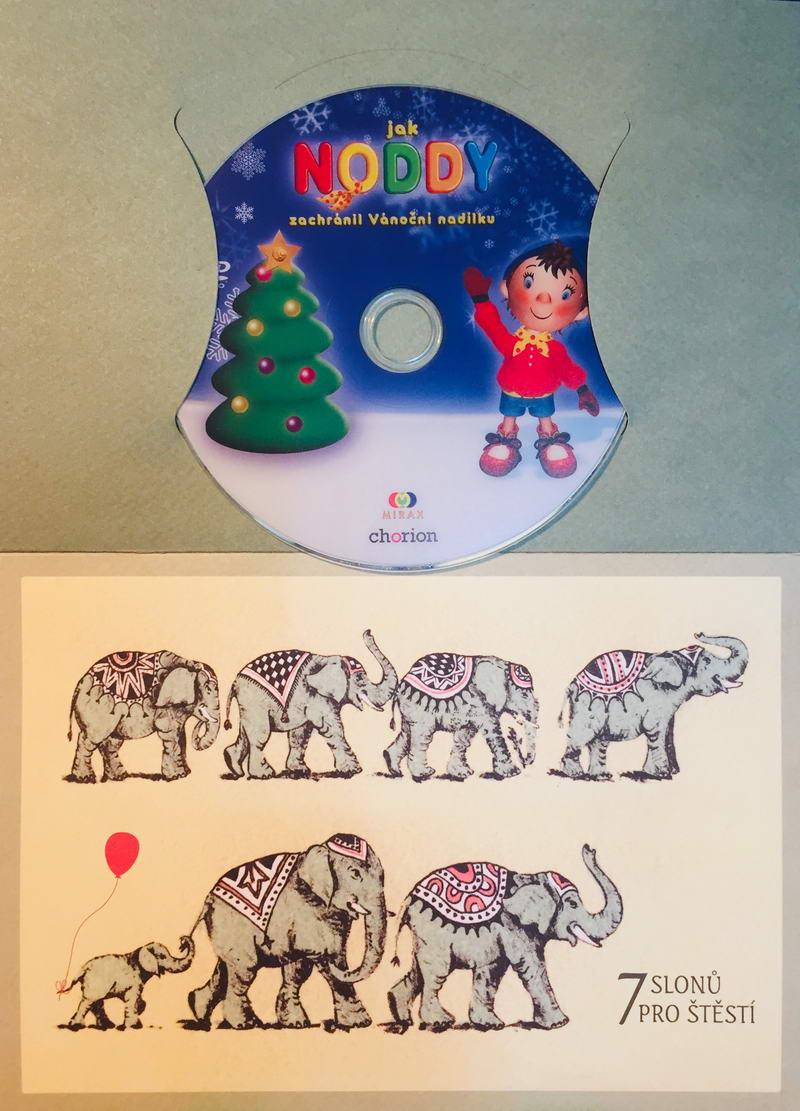Jak Noddy zachránil Vánoční nadílku - DVD /dárkový obal/