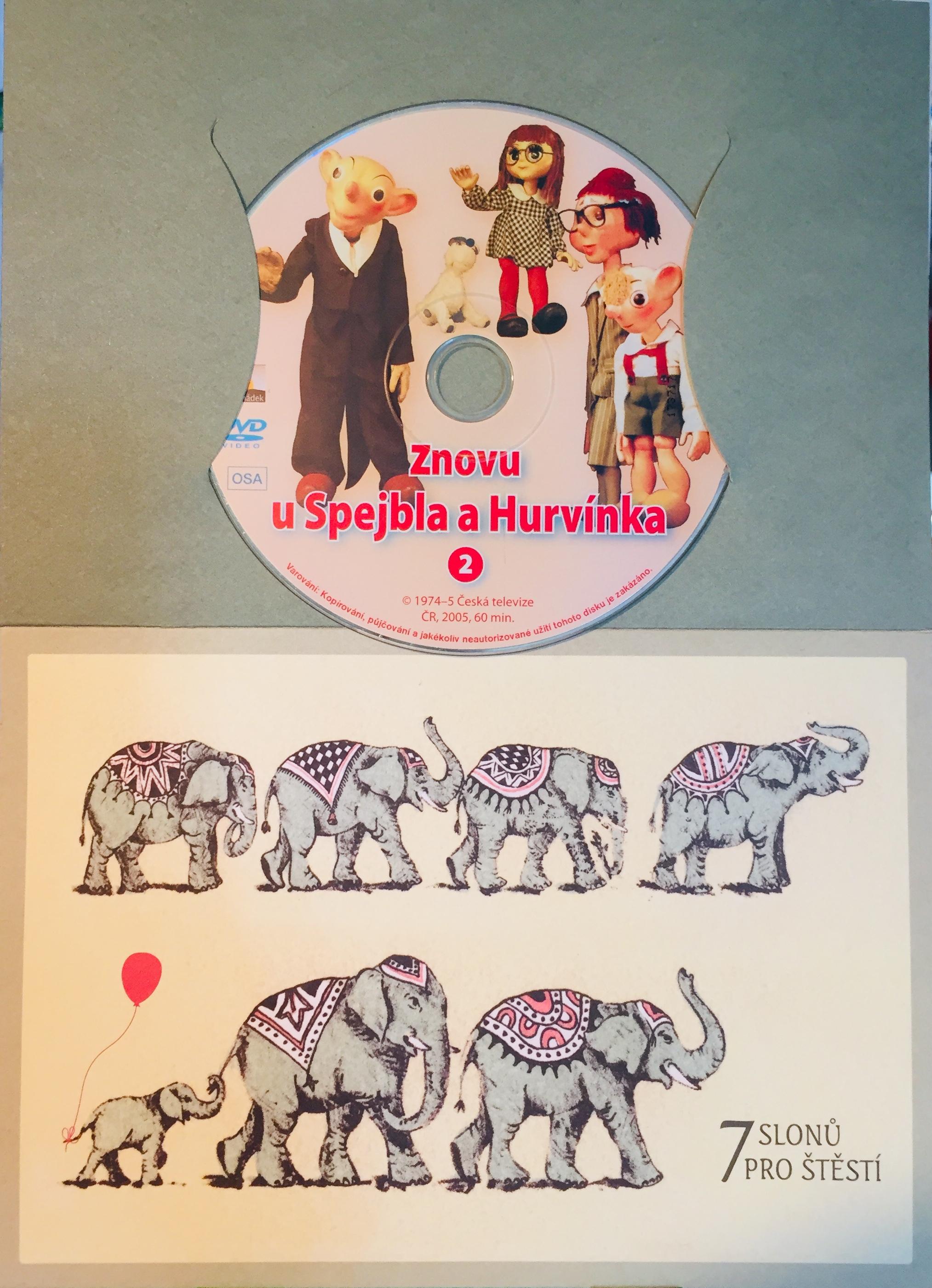 Znovu u Spejbla a Hurvínka 2 - DVD /dárkový obal/