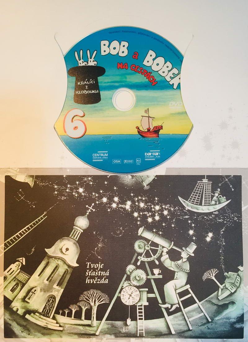 Bob a Bobek na cestách 6 - DVD /dárkový obal/