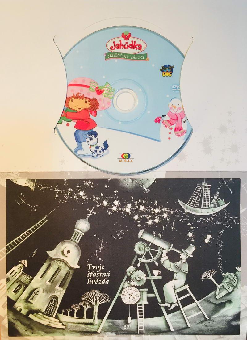 Jahůdka - Jahůdčiny vánoce - DVD /dárkový obal/