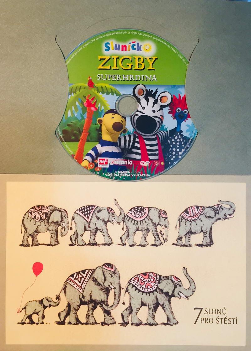 Zigby - Superhrdina - DVD /dárkový obal/