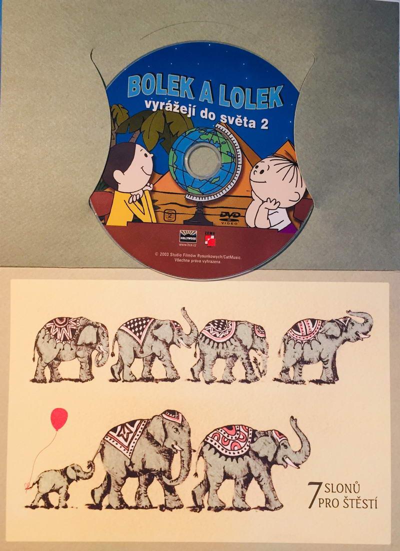 Bolek a Lolek vyrážejí do světa 2 - DVD /dárkový obal/