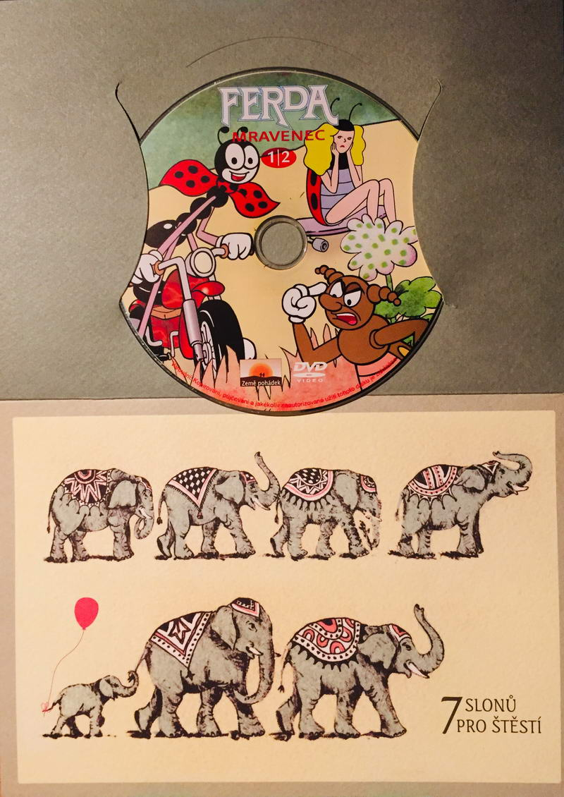 Ferda mravenec 1/2 - DVD /dárkový obal/